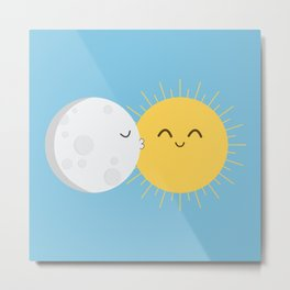 I Love You Sun! Metal Print