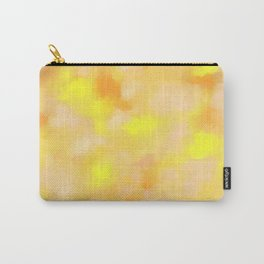 Yellow Liquid Gold Marble Abstract Carry-All Pouch