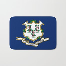 Flag of Connecticut Bath Mat