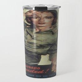 Vintage poster - More Nurses are Needed Travel Mug