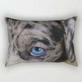 My Dixie Blue Rectangular Pillow