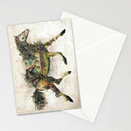 Wild Horse Surrealism Stationery Cards