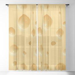 cheese Sheer Curtain