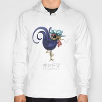 rooster Hoodies featuring Rooster by Daniel Olguin