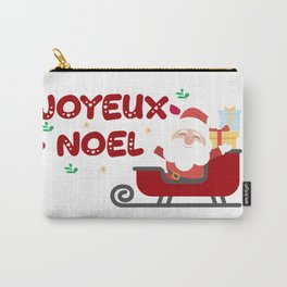 joyeux noel Carry-All Pouch