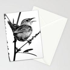 Sedge Wren Stationery Cards