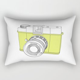 Diana F+ Glow - Plastic Analogue Camera Rectangular Pillow