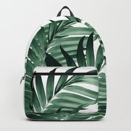 Palm Leaves Tropical Green Vibes #3 #tropical #decor #art #society6 Backpack