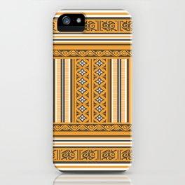 Maldivian Traditional Mat iPhone Case
