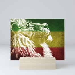 King Of Judah Mini Art Print