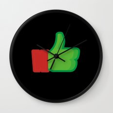 I Like Raphael Wall Clock