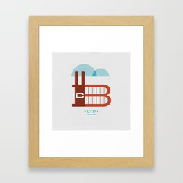 The Factory Framed Art Print