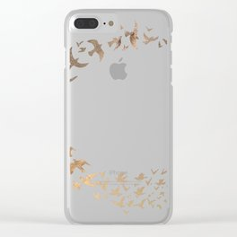 Starbirds Clear iPhone Case