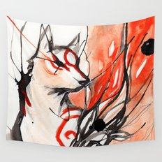 Okami Wall Tapestry