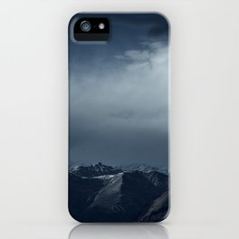 We wanted to sleep in the mountains iPhone Case