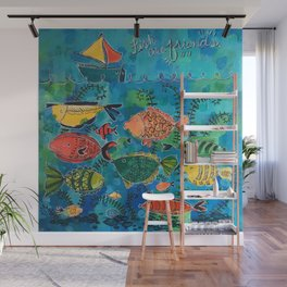 Fish Are Friends Wall Mural