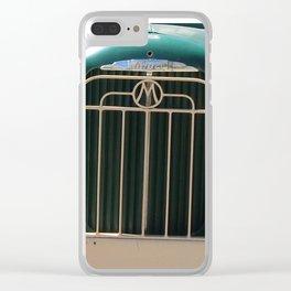 Mack Truck Grill, Mack Truck, Old Truck, Green Clear iPhone Case