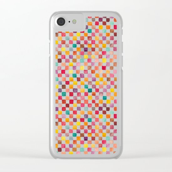 Klee Pattern Clear iPhone Case
