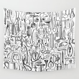Medical Condition B&W Wall Tapestry