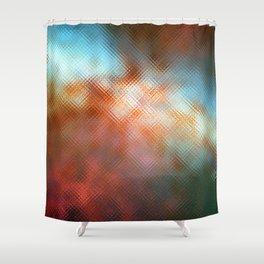 Glass Texture no1 Shower Curtain