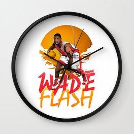 NBA Legends: Dwyane Wade Wall Clock