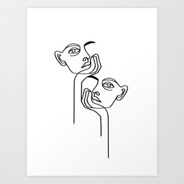 BOREDOM Art Print