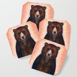 Blissed Out Bear Coaster
