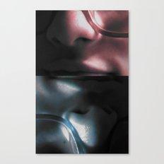 3D glasses Canvas Print