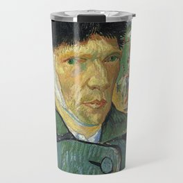 Self Portrait With Bandaged Ear - Van Gogh Travel Mug
