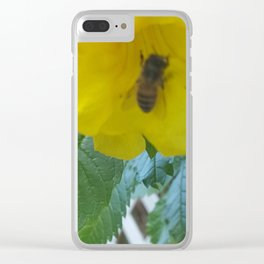 Pollenation Clear iPhone Case