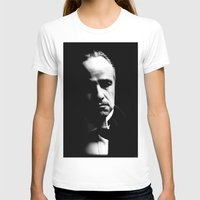 the godfather T-shirts featuring the godfather  by Fotis