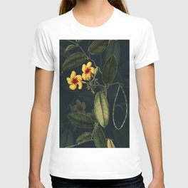 Night Yellow Flower T-shirt
