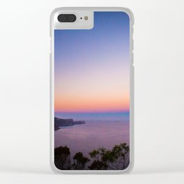 Sunset views Clear iPhone Case