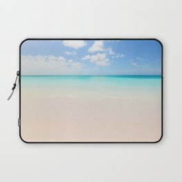 Beach vacation background Laptop Sleeve