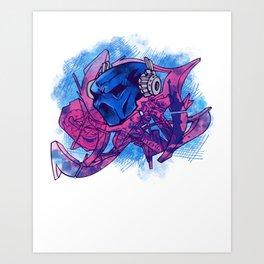 Chev1 peace Art Print
