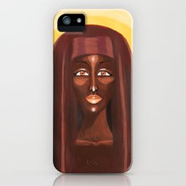 Goddess no 1 iPhone Case