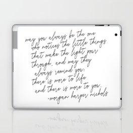 May you always Laptop & iPad Skin