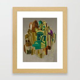 A place to be Framed Art Print