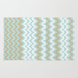 Chevrons and Dots Rug