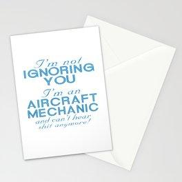 Aircraft Mechanic Stationery Cards