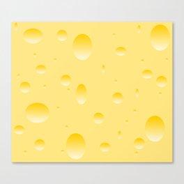 Yummy cheese Canvas Print