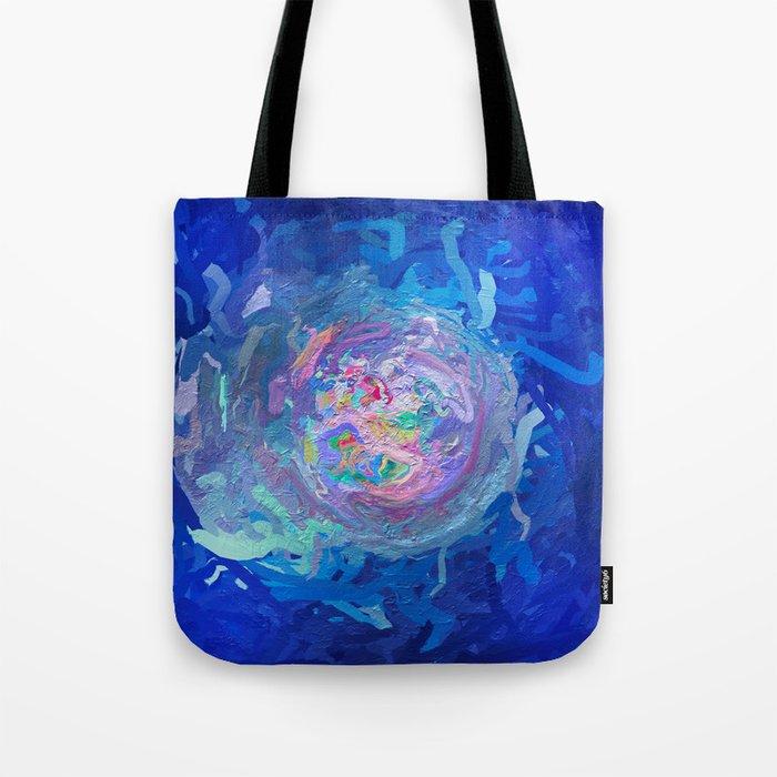 Abstract Mandala 299 Tote Bag