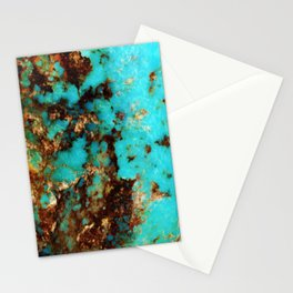 Turquoise I Stationery Cards