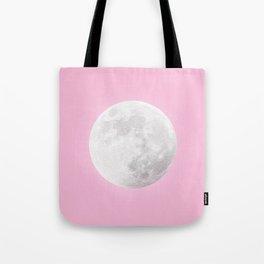 WHITE MOON + PINK SKY Tote Bag