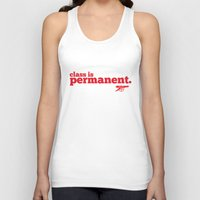 arsenal Tank Tops featuring Class is permanent by joe3428
