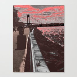 Bay Canvas Print