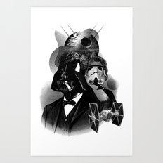 Galactic Republic Art Print