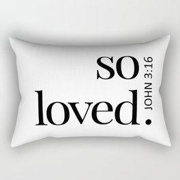 So Loved Rectangular Pillow