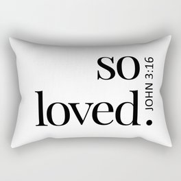 So Loved Rectangular Pillow