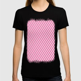 Pink Roses in Anzures 1 Gingham 1 T-shirt